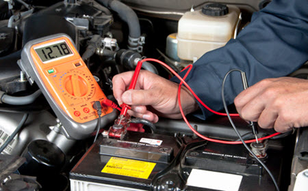 BMW Battery Voltage Check