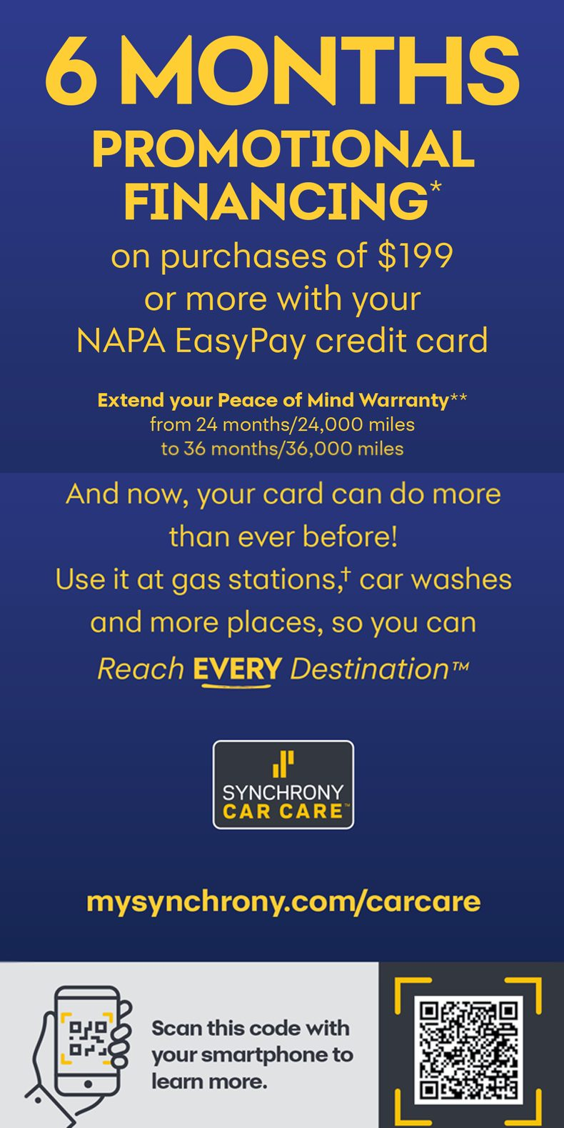 Easy Pay Brochure - NAPA