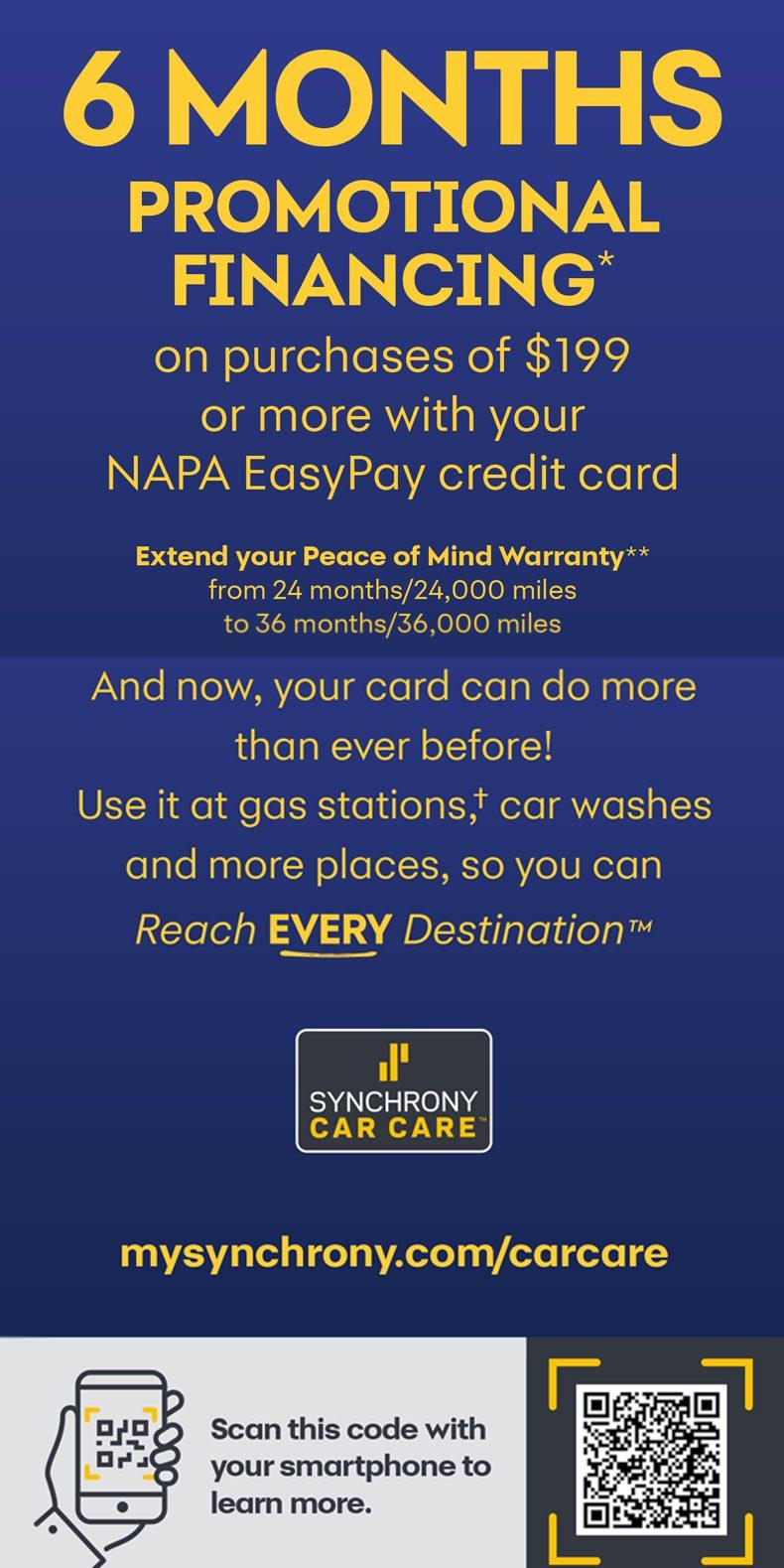 Easy Pay Brochure - NAPA