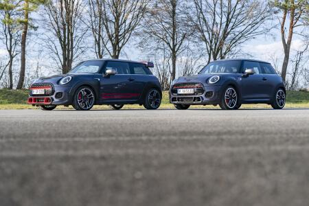 MINI Cars on Road